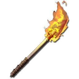 Flame Arrow (100% Damage Bow)