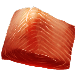 Raw Prime Fish Meat